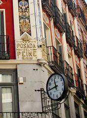 reloj en la calle de Postas