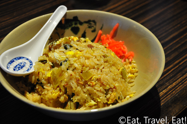 Shin-Sen-Gumi Hakata Ramen- Fountain Valley, CA: Takana Fried Rice