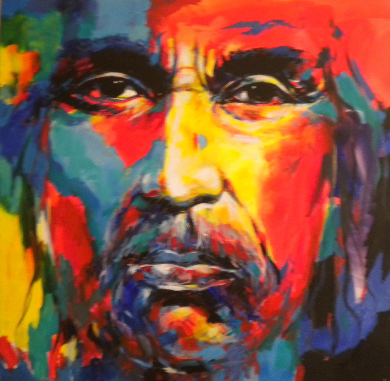 Portrait Paintings Of Indigenous People