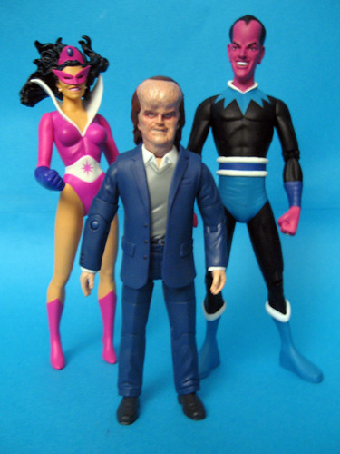 Star Saphire, Hector Hammond and Sinestro