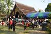 Pak Ou village (-AX-) Tags: temple laos luangprabang banpakou