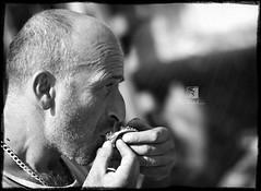 Milenko (Teo Bartulovic (Apocalypso)) Tags: portrait people sunlight eye canon nose eos 50mm eyes europe f14 expressions croatia 7d direct hrvatska