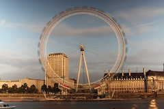 London Eye Spinning!