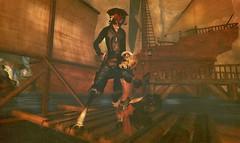 Almost home...... (Sooden Ren's mesh ship) (Shadwell Lykin) Tags: life urban game noir vampire magic avatar fantasy rpg pirate goblin second imp faun