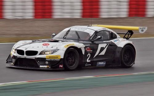 Edwar Sandström-Michael Outzen-Peter Posavac-Lars Stugemo//BMW Z4 GT3