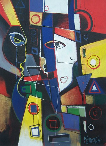 Abstract Cubism - Painting