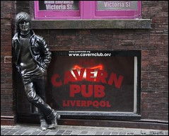 lennon's liverpool ...... (ana_lee_smith) Tags: street uk travel england people sculpture tourism statue wall bronze liverpool photography photojournalism signage pedestrians eleanor stanleystreet johnlennon sculptor mathewstreet thebeatles rigby merseyside beatlemania walloffame thecavern tommysteele allthelonelypeople analeesmith photosofliverpool sonyslta33