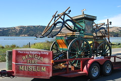Benicia Muster & Apparatus Display (Fire Trucks 4 Hire) Tags: wood museum fun fire hand display engine benicia muster apparatus pumper nonsanctioned