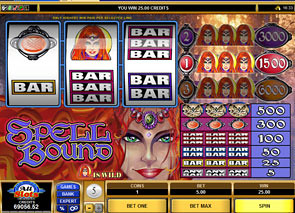 Spell Bound Slots slot game online review