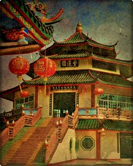 the chinese foundation (ulli_p) Tags: china travel red art texture colors beautiful architecture buildings thailand colorful asia southeastasia colours dragon decoration best mekong textured sincity chinesedragon isan mekongriver travelphotography nongkhai artisticexpression amazingcolours aworkofart anawesomeshot flickraward texturedphoto unseenasia canoneos450d earthasia awardtree tatot bestflickrphotography totallythailand artofimages magicunicornverybest exoticimage