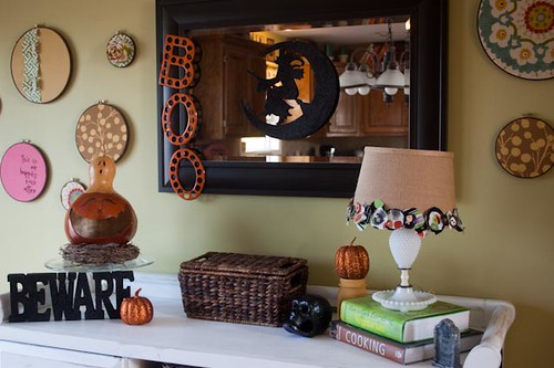 "Kitchen Halloween ""Mantle"""
