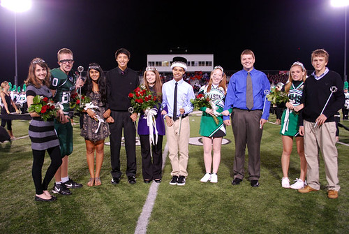 Mason's Homecoming Court