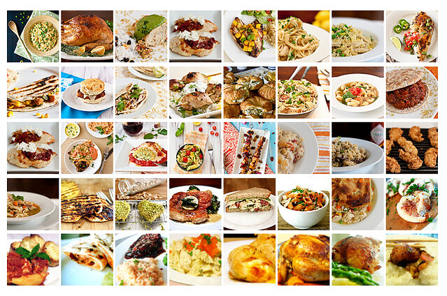 40 Chicken Recipes