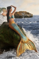 High Tide ~ Mermaid Lagoon (Alexandria LaNier) Tags: party beach costume rocks events tail shoreline makeup lagoon mermaid siren alexandrialanier musictomyeyeslevel1