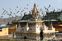 Stupa, Gandan Monastery