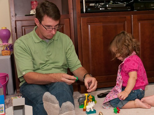 Legos with Uncle J