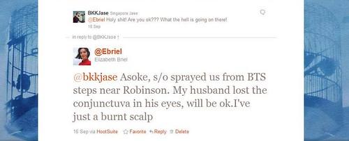Incident tweet 2