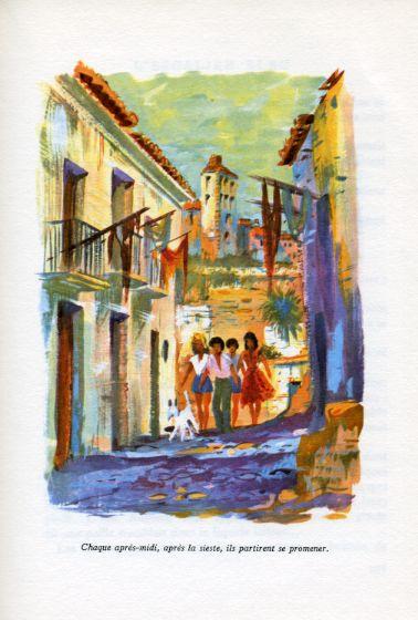 L'escalier bleu, by Renée AUREMBOU -image-50-150