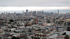 SF One-A-Day #91 (danieljsf) Tags: sanfrancisco california city skyline view market distance distant 3waychallenge flickrchallengegroup thechallengefactory