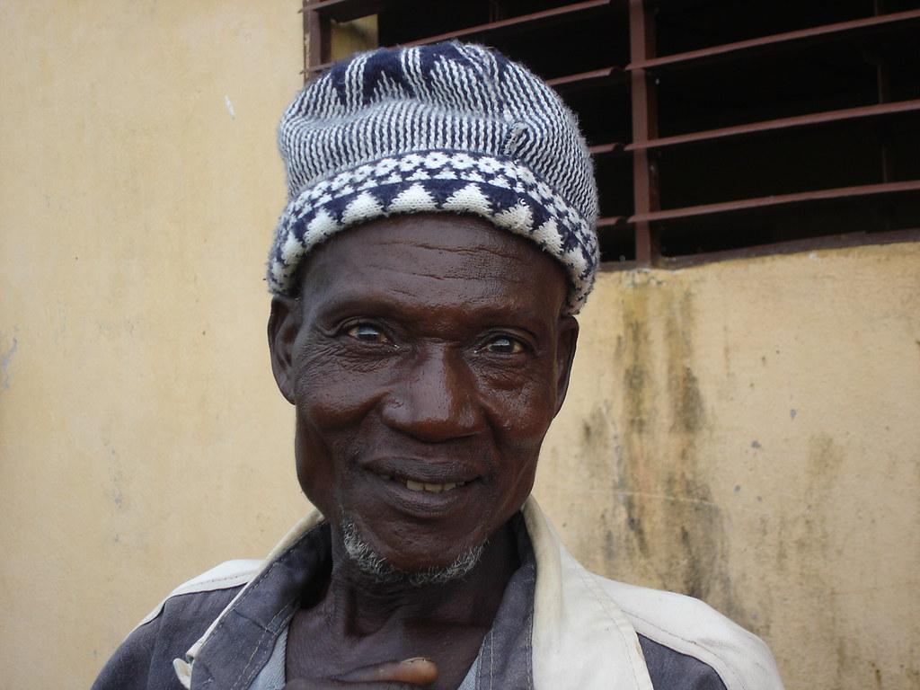 Un bénéficiaire du crédit Togo