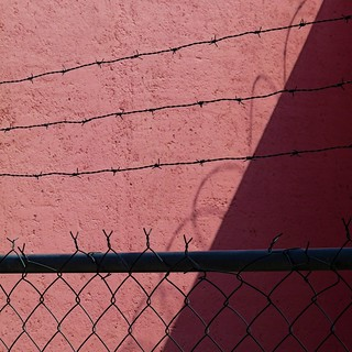 wire and shadow