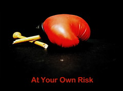 At Your Own Risk (tamahaji) Tags: play risk your boxing broke own patah tinju