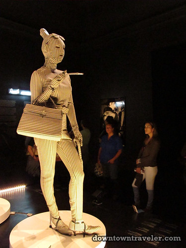 Jean Paul Gaultier runway at Montreal art museum