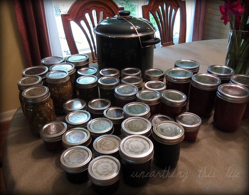 Canning Session