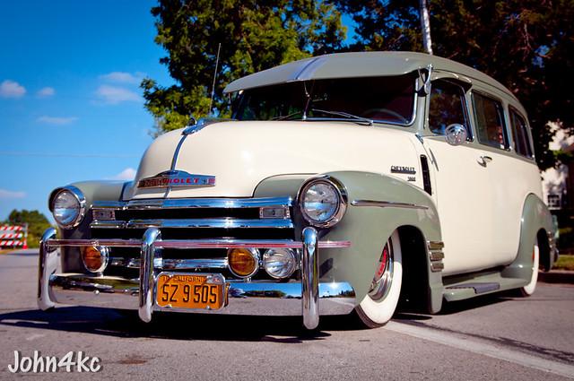 chevrolet suburban chevy 1950s 50s custom lowrider 40s carryall