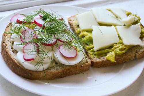 two halves of best sandwich