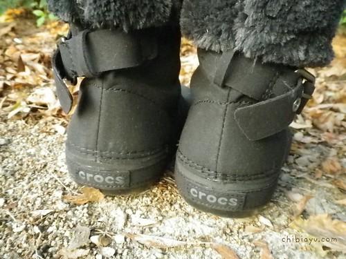 ベリエッサ バックル クロックスのブーツ