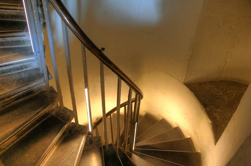 Stairwell in the Monument