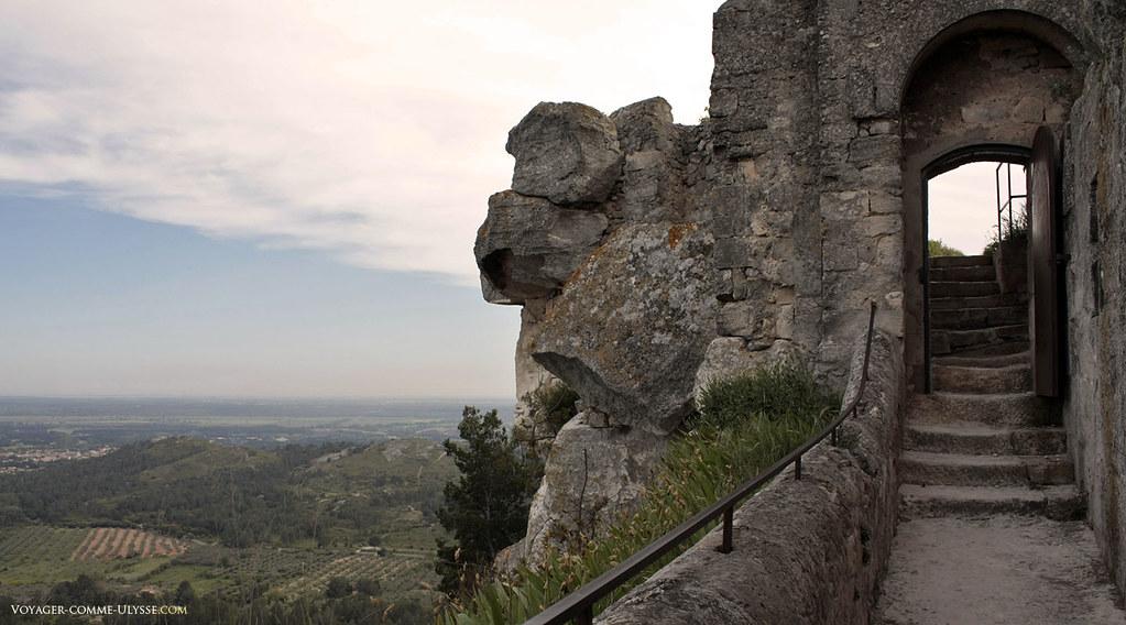 Point de vue du Château sur la région