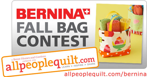 Bernina Fall Bag Contest at allpeoplequilt.com