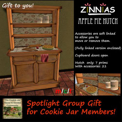 Zinnias Designer Spotlight, Free Gift
