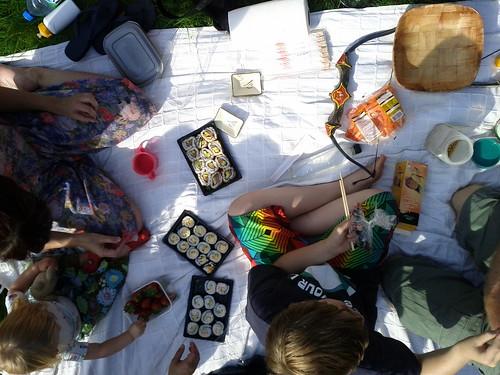 Sushi picnic