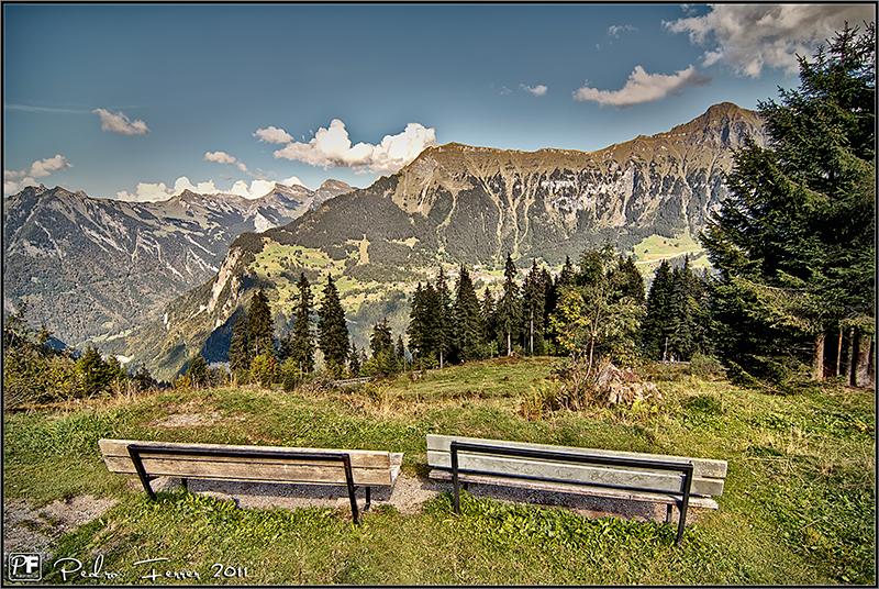 Suiza - Valle de Lauterbrunnen - El cazador de bancos - Bench Hunter part XXXVII