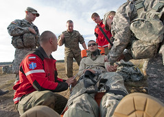 Prep for transport (U.S. Army Europe Images) Tags: canada jump military poland parachute multinational usarmyeurope bumgardner 173rdairbornebrigadecombatteam dragon11