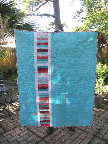 Back of fence rail quilt. by gaydenesse
