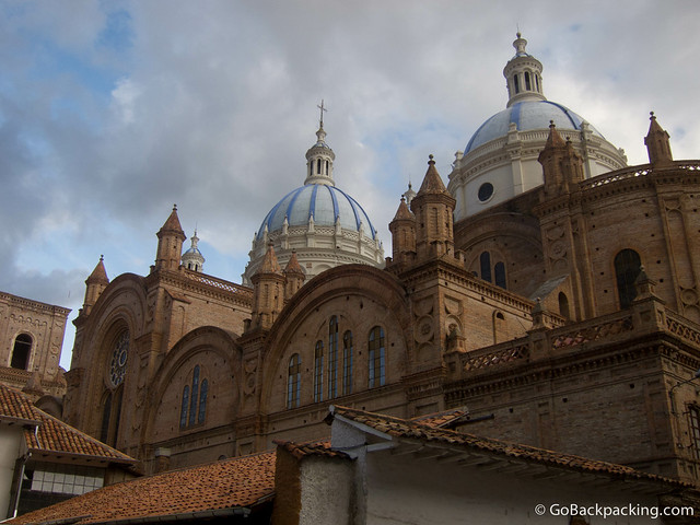 Blue domes of La Catedral