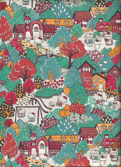 Hello Kitty Liberty Art Fabric