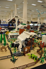 Numereji 2421: The Yupa Farmstead (Yupa-sama) Tags: lego display convention 2011 2421 brickcon numereji
