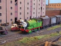 Percy shunts the brick warehouse