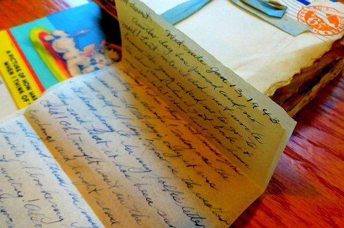 soldier's letters