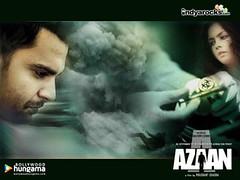 [Poster for Azaan with Prashant Chadha, Sachiin Joshi, Dalip Tahil, Candice Boucher, Aarya Babbar, Alyy Khan]