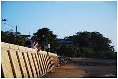 Wellington Point - Redland City - Queensland (chedoanvien) Tags: travel sunset sea golf volkswagen pier tide australia brisbane qld queensland 1998 toowoomba wellingtonpoint 2011 norwin langthang doanvien agricuturalfarm