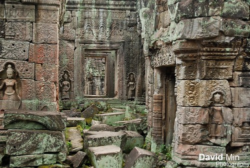 Siem Reap, Cambodia - Lost in the ruins of Preah Khan by GlobeTrotter 2000