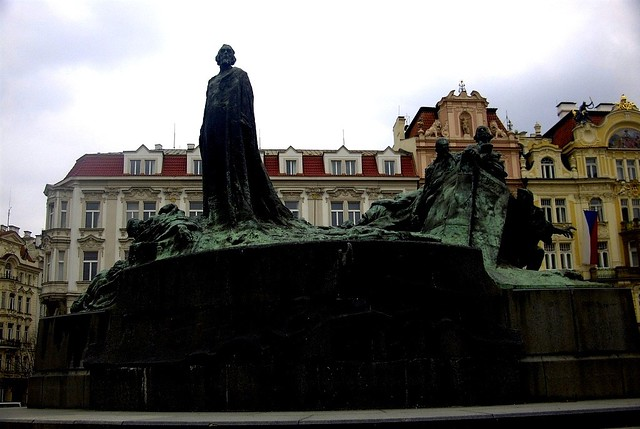 Jan Hus Memorial, Prague Czech Republic