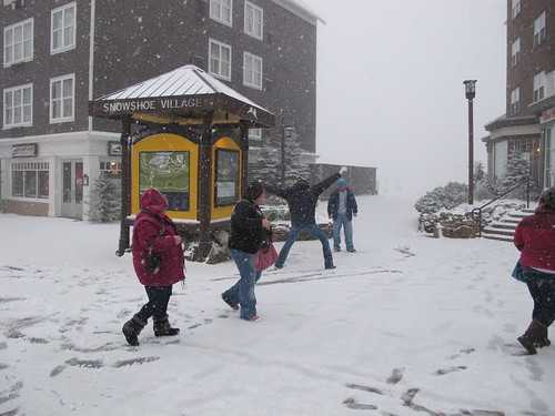 Snowshoemtn 10.1.11 snowball fight