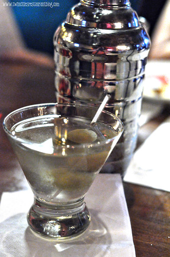 Dirty Martini at Axel's Bonfire ~ St Paul, MN